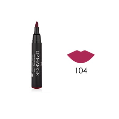 Golden Rose Lip Marker Ultra Lasting Color No. 104, 2,5ml
