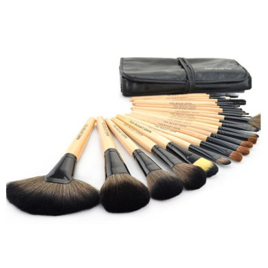 High Maintenance 24 Piece Brush Set in a Bag - Σετ πινέλων μακιγιάζ 24 τεμαχίων