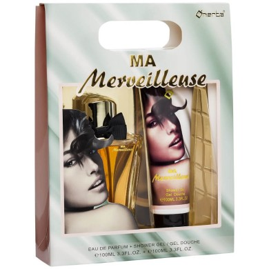 Ma Merveilleuse Gift Set Ladies 100ml EDP + Shower Gel 100ml Omerta