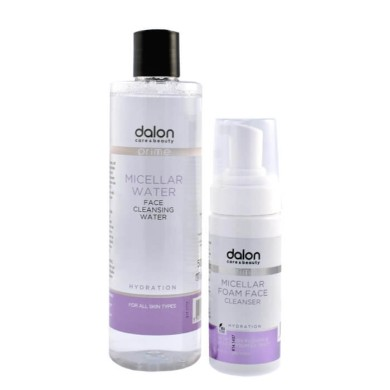 Dalon Micellar foam cleanser 150ml & water 500ml