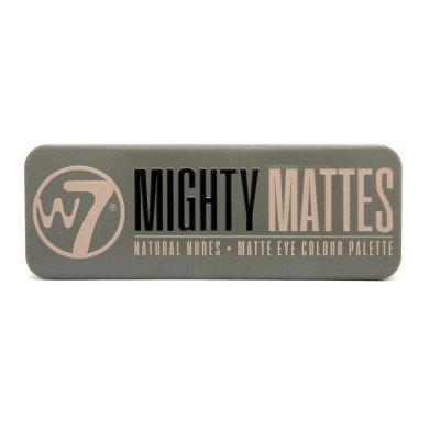 W7 Mighty Matte Natural Nudes Eyeshadow Palette