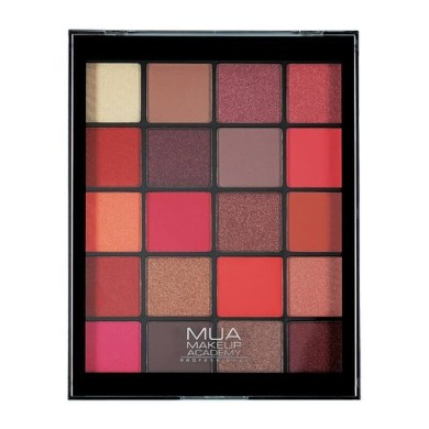 MUA 20 shade Eyeshadow Palette - Flame Thrower 22g