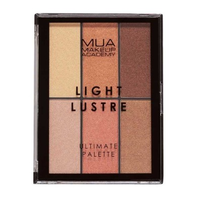 MUA Light Lustre Ultimate Palette Bronze, Blush & Highlight 30g