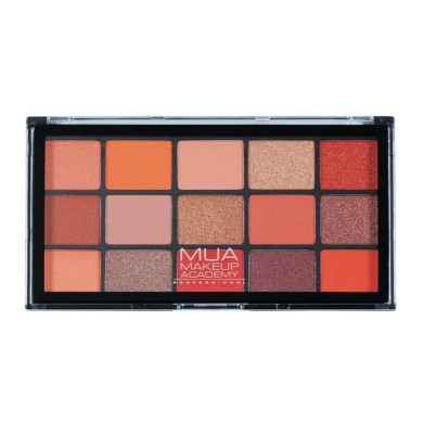 MUA Professional 15 Shade Eyeshadow Palette - Empire Butterfly 12g