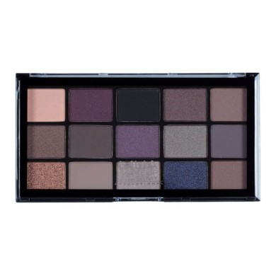 MUA Professional 15 Shade Eyeshadow Palette - Twilight Delight 12g