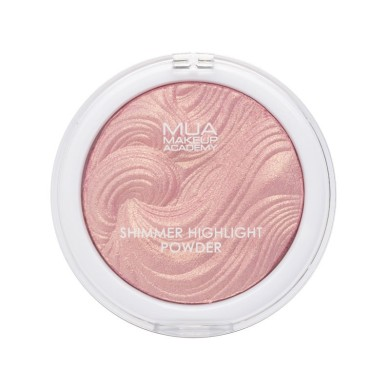 MUA Shimmer Highlight Powder - Hollywood Rose 8g