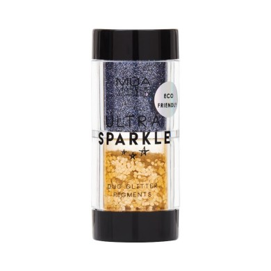 MUA Makeup Academy Ultra Sparkle Duo Glitter Pigments Explosive 6.4g
