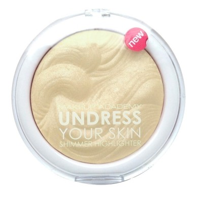 MUA Undress Your Skin Highlighting Powder - Iridescent Gold 8g