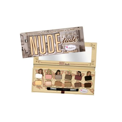The Balm Cosmetics Nude Tude Eyeshadow Palette, 9.6 g