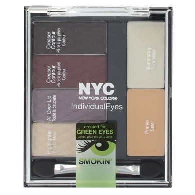 NYC Individual Eyes Compact, 943 Smokey Greens