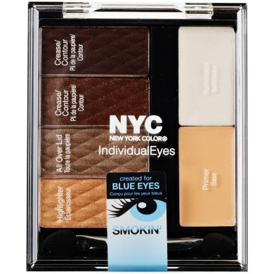 NYC Individual Eyes Compact, 942 Smokey Blues