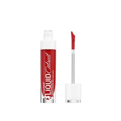 Wet n Wild Mega Last Liquid Catsuit High-Shine Lipstick E968A Bad Girl's Club 5.7g