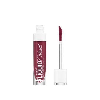 Wet n Wild Mega Last Liquid Catsuit High-Shine Lipstick E969A Wine is the Answer 5.7g