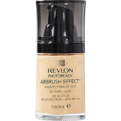 Revlon Photoready Airbrush Effect MakeUp, 001 Ivory 30ml