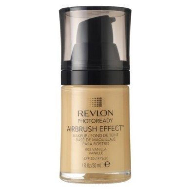 Revlon Photoready Airbrush Effect MakeUp, 002 Vanilla, 30ml