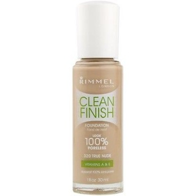 Rimmel Clean Finish Foundation, 420 Warm Sand