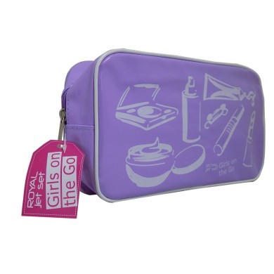 Νεσεσέρ, Royal Jet Set Girls on the Go Purple- MakeUp Bag
