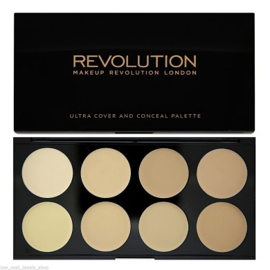 Makeup Revolution Ultra Cover And Conceal Palette Corrector Light 10gr