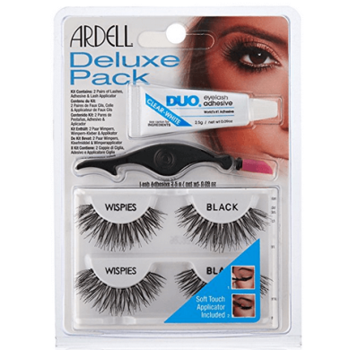 Ardell Deluxe Pack Wispies Black