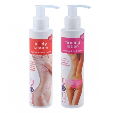 Lovie Set body cream 150ml + firming lotion 150ml