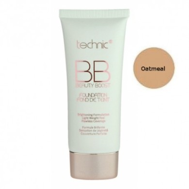 Technic BB Beauty Boost Foundation, Oatmeal, 30 ml