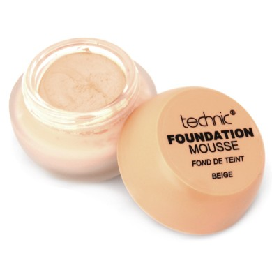 Technic Foundation Mousse 20g, Beige