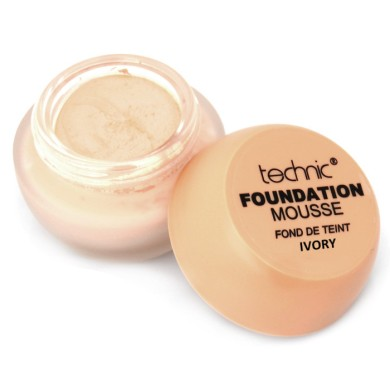Technic Foundation Mousse 20g, Ivory