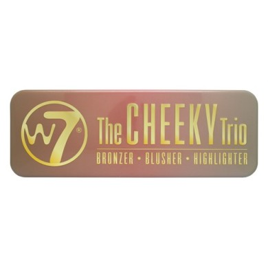 W7 The Cheeky Trio Palette, Bronzer-Blusher-Highlighter.