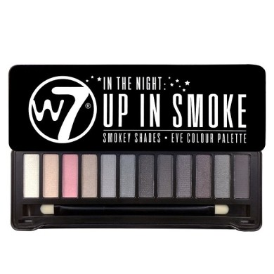 W7 In The Night: Up In Smoke Eye Shadow Palette,15.6g