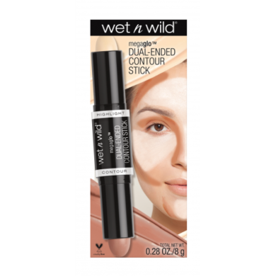 wet n wild MegaGlo Dual - Ended Contour Stick, No. 751 Light/Medium