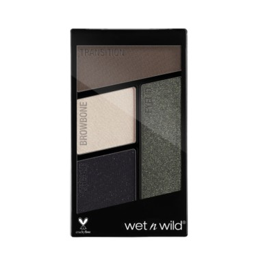 Wet n Wild Color Icon Eyeshadow Quads - Nr 338 - Lights Out, 4.5g