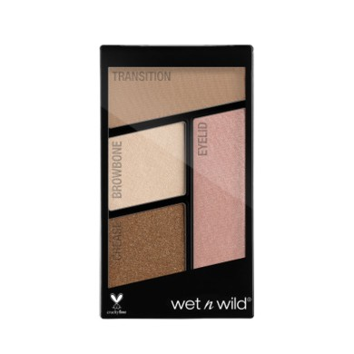Wet n Wild Color Icon Eyeshadow Quads - Nr 340 - Walking On Eggshells, 4.5g