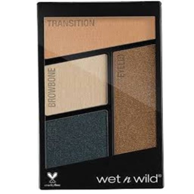 Wet n Wild Color Icon Eyeshadow Quads - Nr 343 - Hooked On Vinyl, 4.5g